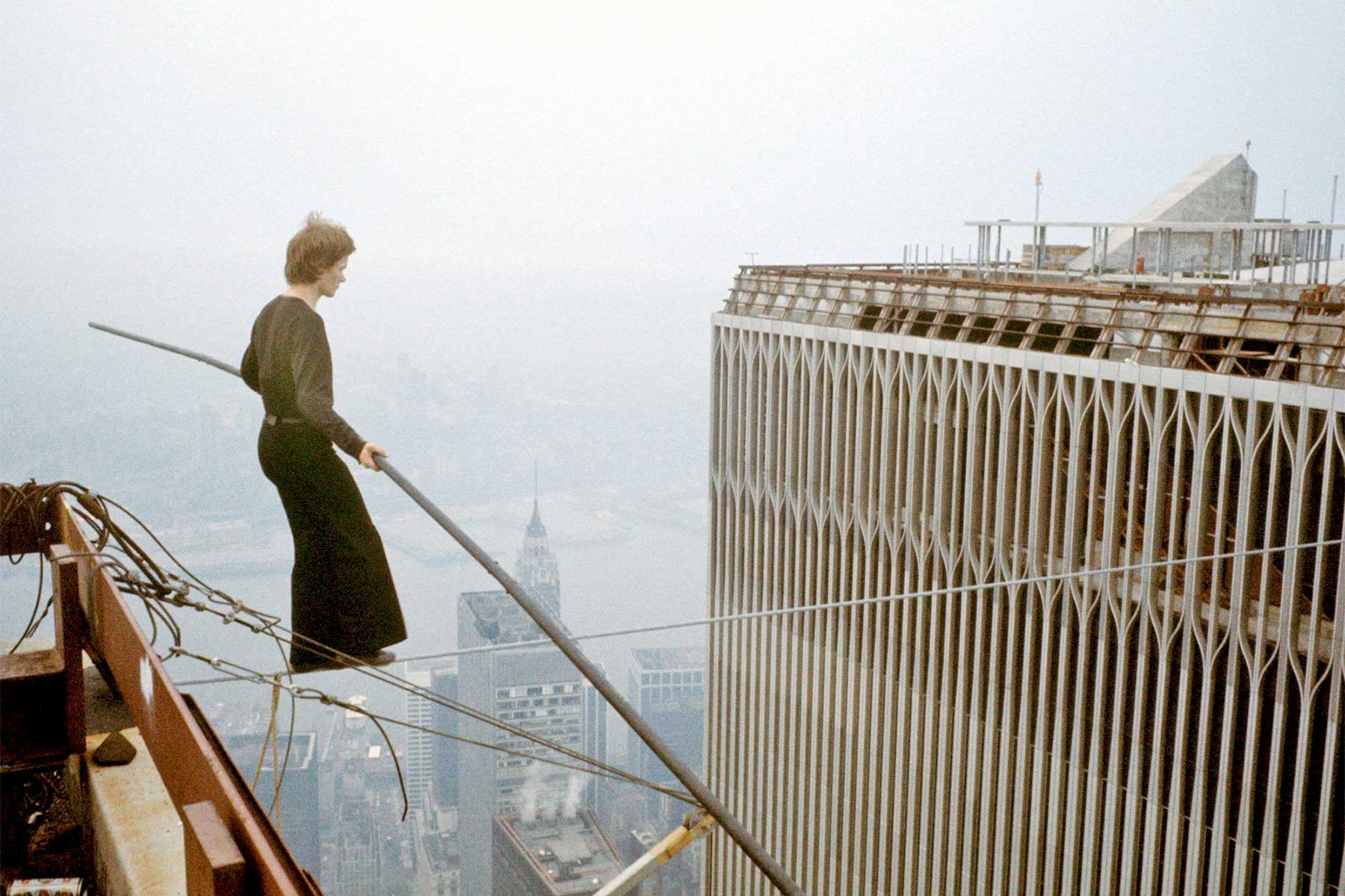 Philippe Petit, inspiring me to re-wire…